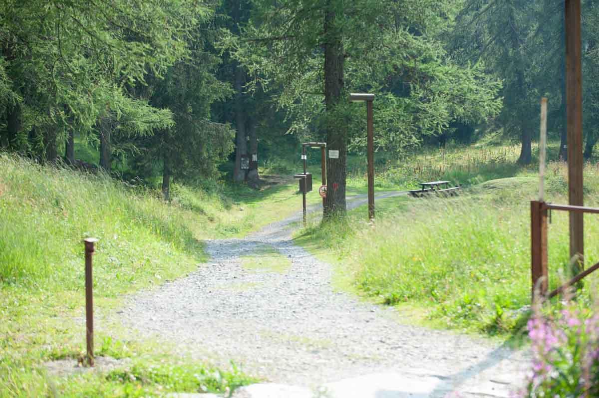 sentiero ebike convento